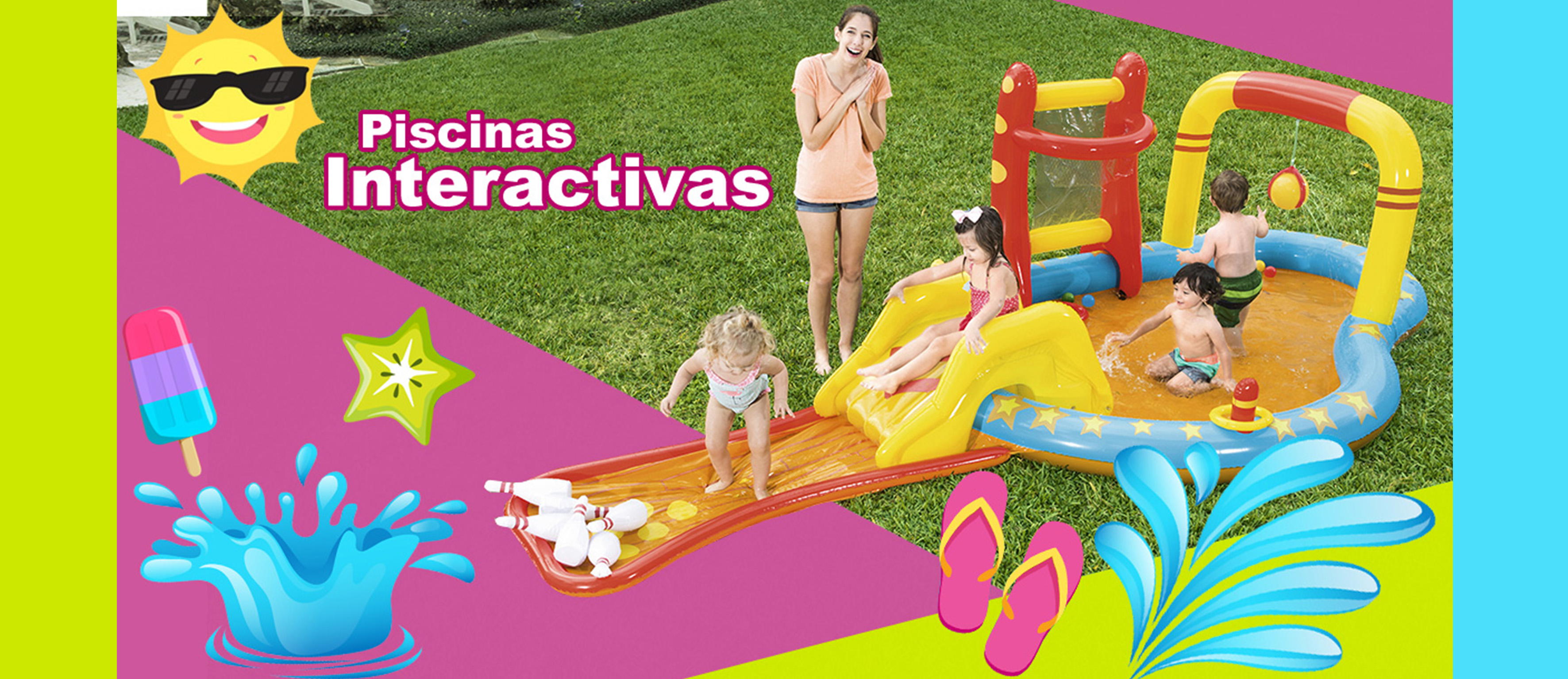 Piscinas Interactivas